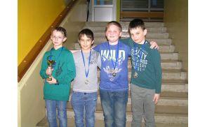 Fantje do 12 let - regijski prvaki