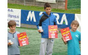 Filip Vranc je obetaven smučarski skakalec.