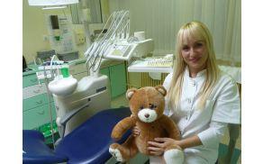 Vojniška otroška zobozdravnica Zorica Ljubojević