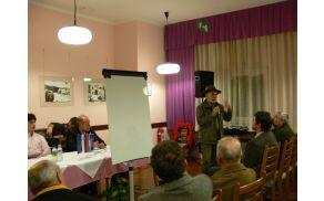 Okoljevarstvenik Anton Komat je predstavil tveganja, povezana s sežiganjem odpadkov. Foto: Lea Širok