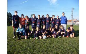 Jesenski prvaki U13 po zadnji tekmi