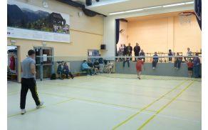 Finalna tekma v badmintonu v moški kategoriji: Tim: Tomaž