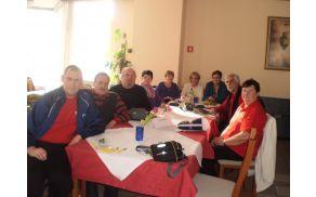 Športniki in športnice iz DI Slovenj Gradec, ki so se udeležili  2. kroga koroške pikado lige