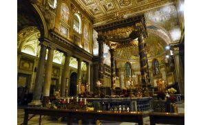 Nastop v baziliki Maria magore