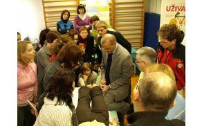 Udeleženci so pokazali veliko zanimanje za predstavljene metode
