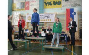 Finale Slovenije v ju jitsu tehnikah, Maša MEDVEŠEK 2. mesto