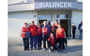Ekipi DI Slovenj Gradec na Območnem tekmovanju v balinanju v Rogaški Slatini
