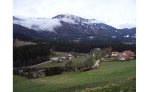 zasnežena Uršlja gora