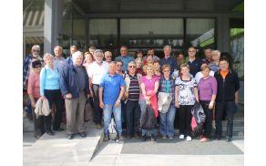 Kopalni dan članov Aktiva invalidov Stari trg - skupinska slika