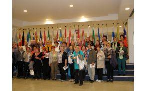 Slovenski prostovoljci v EU parlamentu
