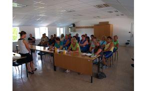 Delovni invalidi podjetja JC NTU na predavanju