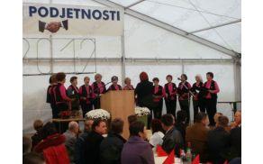 Ženski pevski zbor Lastovke KD Grosuplje.