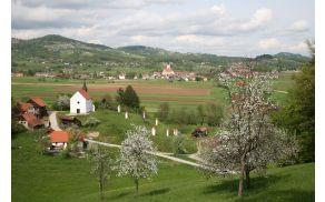 Panorama Šentruperta