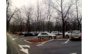 Prenovljeno parkirišče Tivoli.