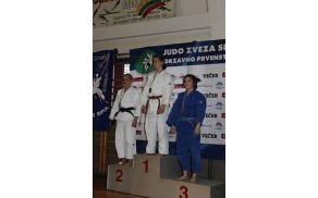 Patricija Gregorčič na tretji stopnički, foto: Judo klub Duplek