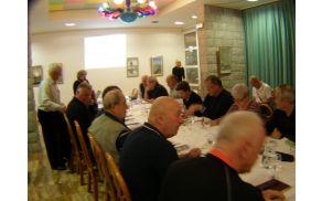 Predsedniki  DU Slovenije na seminarju