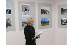 Razstavo je otvorila direktorica muzeja