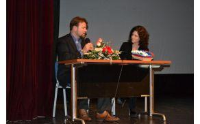 Jože Možina in Eva Irgl