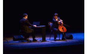 Glasbeno gledališka predstava GODART je odprla Glasbeno poletje v Bohinju. Foto: Pavle Korošec