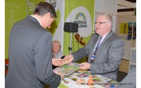 Predsednik države Borut Pahor se je ustavil pri naši turistični predstavitvi.