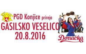 Preživite dan s konjiškimi gasilci in ansamblom Donačka
