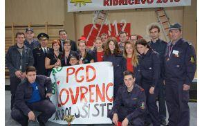 Ekipa PGD Lovrenc na državnem mladinskem kvizu v Kidričevem.