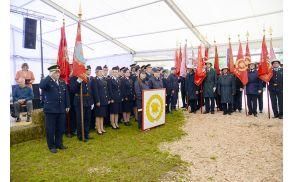 Zbor prostovoljnih gasilk in gasilcev PGD Studor. Foto: PGD Studor