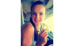 Barbara iz Frankolovega je perspektivna mlada atletinja.