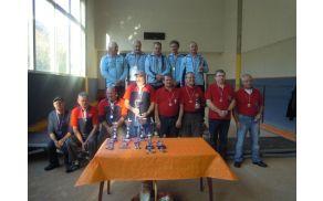Udeleženci turnirja v pikadu v Kanalu. Foto: DU Kanal
