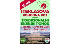 15 let - Steklasova pohodna pot vabi na tradicionalni jesenski pohod