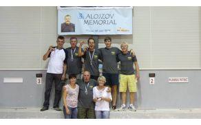Presenečenje turnirja - ekipa PAM - Jani Petrič skrajno levo