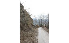 Cesta bo danes od 18.ure dalje odprta. Foto: arhiv Občine Kobarid