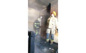 O požaru so pisale Slovenske novice