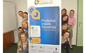 Udeleženci programa Podjetno v svet podjetništva; foto: RC Novo mesto
