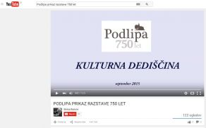 Podlipa ima nov »video«
