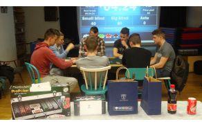 Finalna igra v pokru. Foto: Anže Lustek