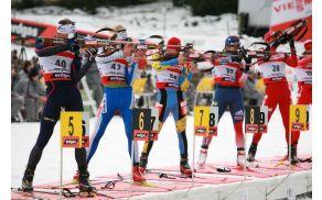 Slovenija na biatlonskem SP v Ruhpoldingu