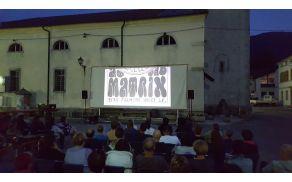 V četrtek, 7. julija 2016, je v okviru Poletja v Kobaridu potekal poletni kino Janis Joplin Otožno dekle, v organizaciji Občine Kobarid in Zavoda za kulturo, šport in mladino Tolmin. Foto: Nataša Hvala Ivančič