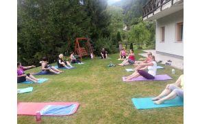 Poletni Pilates v naravi s Katjo Gaber Vodopivec - Podljubelj, Tržič