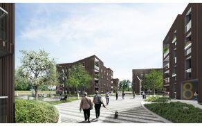 Največ stanovanj bo iz soseske Polje III. (foto: arhiv Bevk Perović Arhitekti)