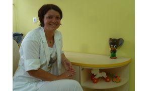 S prvim oktobrom je delo vojniške pediatrinje sprejela mlada specialistka Polonca Reberšek Čokl.