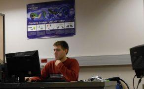 Anton Žnidarčič pri delu. Foto: osebni arhiv