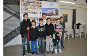Uspešni mladi podjetniki OŠ Kobarid. Foto: arhiv OŠ Kobarid