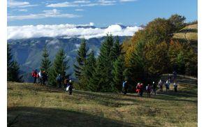 Z roba Počanske gore so lepi razgledi (Sonja Zalar Bizjak)