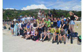 Devetošolci OŠ Vransko - Tabor na portoroški plaži