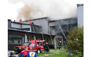 Požara v osnovni šoli ni zakrivil človek.
