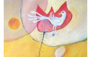 simbol Pomladne ladje- ilustracija Peter Škerl