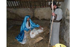 Jezus se rodi v hlevu