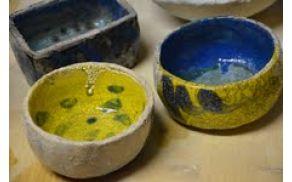 Končni izdelki raku tehnike Foto: arhiv Kluba keramikov Kanal