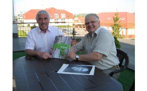 Sprejem pri županu Česka Skalic in izročitev monografije naše občine